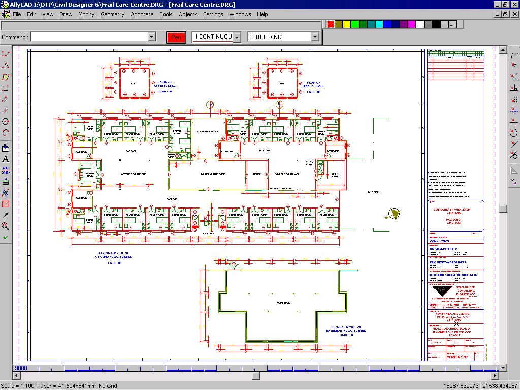 Civil designer and allycad civil engineering and for Construction layout software