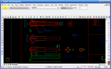 AllyCAD Mechanical Toolkit