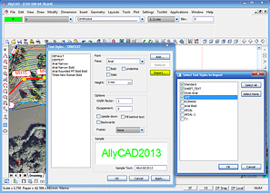 AllyCAD Style Importer