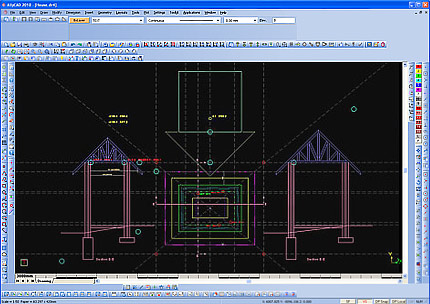 AllyCAD Home Edition full screenshot