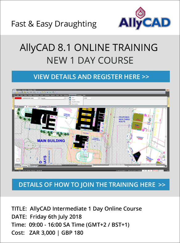 AllyCAD Internediate Online Training