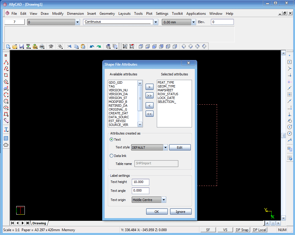 AllyCAD Functions and Features